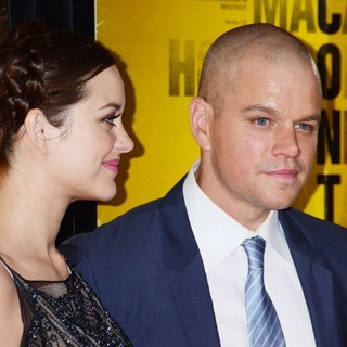 Marion Cotillard, Matt Damon in New York Premiere of Contagion - Arrivals