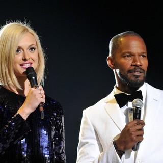 Fearne Cotton, Jamie Foxx in Michael Jackson Tribute Concert Held at The Cardiff Millenium Stadium