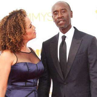Bridgid Coulter, Don Cheadle in 66th Primetime Emmy Awards - Arrivals