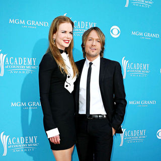 Nicole Kidman, Keith Urban in The 45th Annual Academy of Country Music Awards