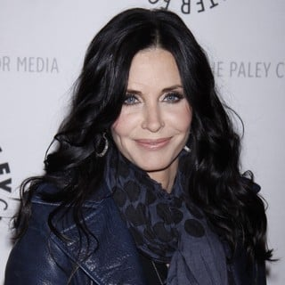 Courteney Cox in Cougar Town's Third Season Premiere - Arrivals