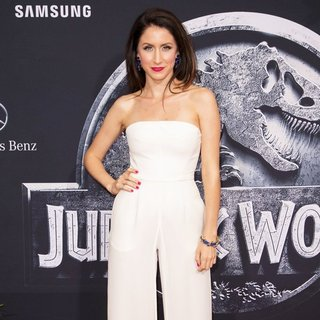 Courtney J. Clark in The Premiere of Universal Pictures' Jurassic World - Arrivals