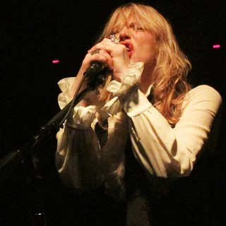 Courtney Love in Courtney Love Performs Live - During The 2013 Sundance Film Festival