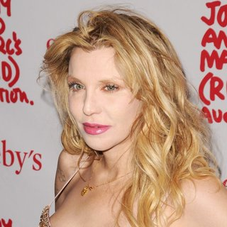 Courtney Love in Jony And Marc's (RED) Auction - Red Carpet Arrivals