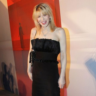 Courtney Love in Valentino Garavani Virtual Museum Launch Party