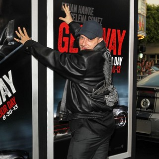 Courtney Solomon in Getaway Los Angeles Premiere