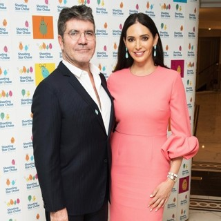 Simon Cowell, Lauren Silverman-Afternoon Tea for Children's Hospice