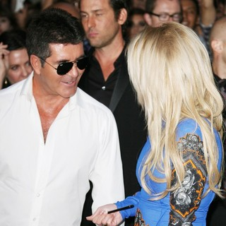 Britney Spears - The X Factor Season Two Premiere Screening and Handprint Ceremony