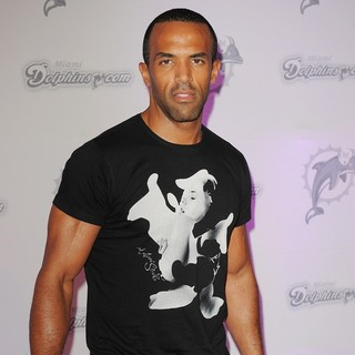 Craig David in The Orange Carpet - The Miami Dolphins vs New England Patriots NFL Game