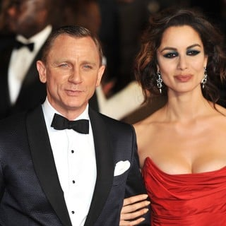 Daniel Craig, Berenice Marlohe in World Premiere of Skyfall - Arrivals