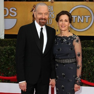 Bryan Cranston, Robin Dearden in 19th Annual Screen Actors Guild Awards - Arrivals