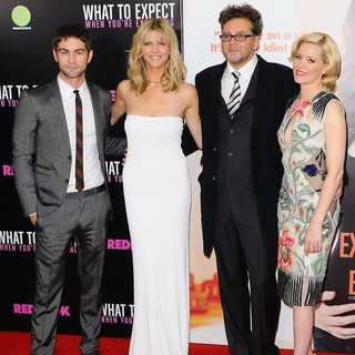 Chace Crawford, Brooklyn Decker, Kirk Jones, Elizabeth Banks in What to Expect When You're Expecting New York Premiere