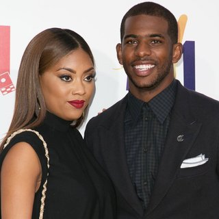 Jada Crawley, Chris Paul in Film Premiere of Think Like a Man Too