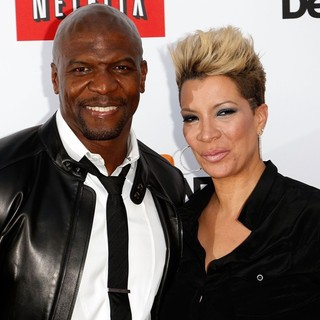 Terry Crews, Rebecca King in Netflix's Los Angeles Premiere of Season 4 of Arrested Development