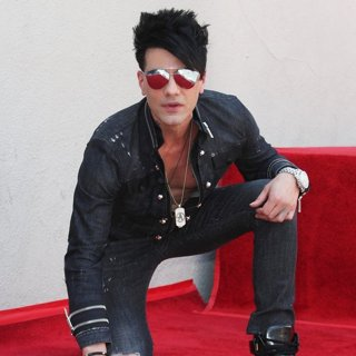 Criss Angel-Criss Angel Honored with Star on The Hollywood Walk of Fame