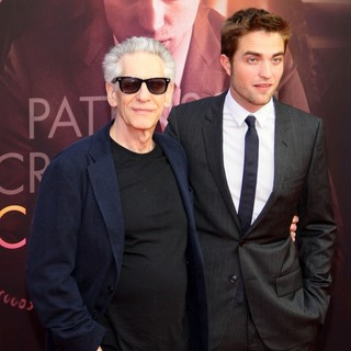 David Cronenberg, Robert Pattinson in The German Premiere of Cosmopolis