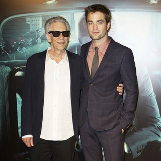 David Cronenberg, Robert Pattinson in Paris Screening of Cosmopolis