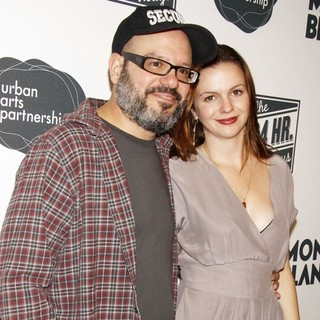 David Cross, Amber Tamblyn in The 9th Annual 24 Hour Plays on Broadway Afterparty
