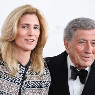 Susan Crow, Tony Bennett in 40th Anniversary Chaplin Award Gala Honoring Barbra Streisand