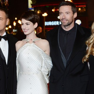 Russell Crowe, Anne Hathaway, Hugh Jackman, Amanda Seyfried in Les Miserables World Premiere - Arrivals