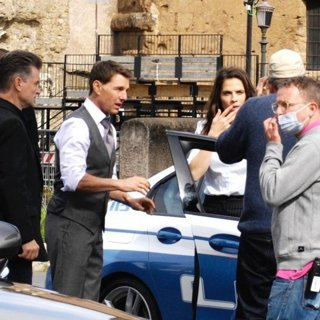 Filming Scenes for Mission: Impossible VII
