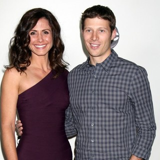 Valerie Cruz, Zach Gilford in The Disney ABC Television Group's TCA Winter 2011 Press Tour Party