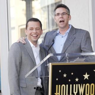 Jon Cryer, John Henson in Jon Cryer Is Honored with A Hollywood Star