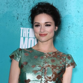 Crystal Reed in 2012 MTV Movie Awards - Press Room