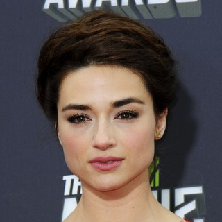 Crystal Reed in 2013 MTV Movie Awards - Arrivals