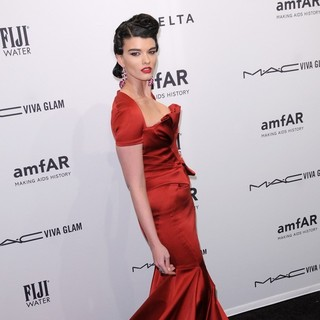 Crystal Renn in The amfAR Gala 2013