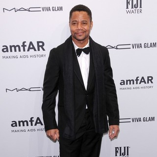 Cuba Gooding Jr. in The amfAR Gala 2013
