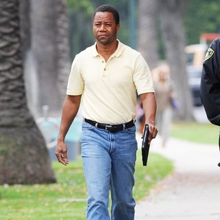 Cuba Gooding Jr. Filming for American Crime Story
