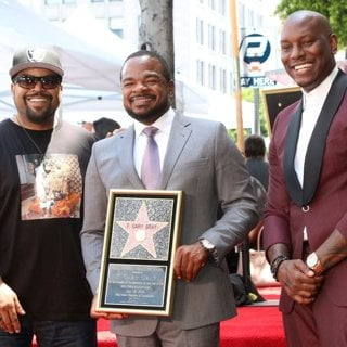 Ice Cube, F. Gary Gray, Tyrese Gibson in F. Gary Gray Walk of Fame Star Ceremony on the Hollywood Walk of Fame