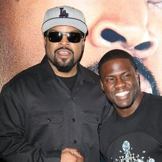 Ice Cube, Kevin Hart in Universal Pictures Premiere of Ride Along