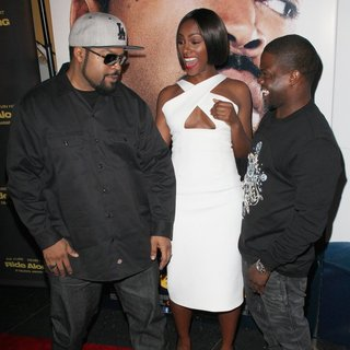 Ice Cube, Tika Sumpter, Kevin Hart in Universal Pictures Premiere of Ride Along