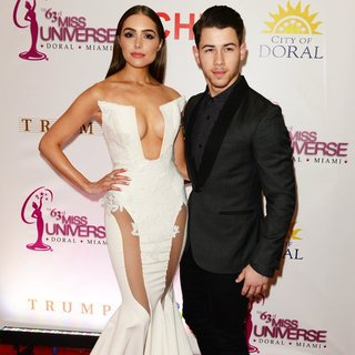 Nick Jonas in The 63rd Annual Miss Universe Pageant - Red Carpet Arrivals - culpo-jonas-63rd-annual-miss-universe-pageant-01