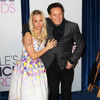 Kaley Cuoco, Mark Burnett in The 2013 People's Choice Awards Nominee Announcements