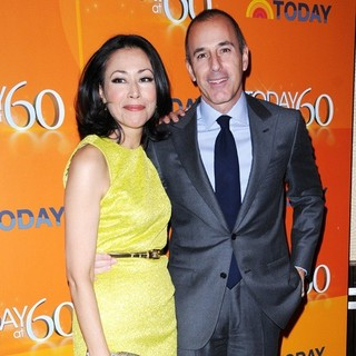 Ann Curry, Matt Lauer in The TODAY Show 60th Anniversary Celebration
