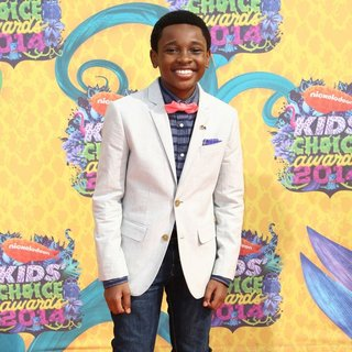 Curtis Harris in Nickelodeon's 27th Annual Kids' Choice Awards - Arrivals