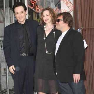 John Cusack, Joan Cusack, Jack Black in John Cusack Honored with A Star on The Hollywood Walk of Fame