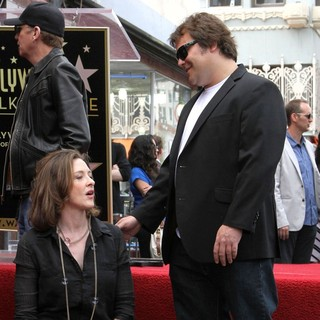 Joan Cusack, Jack Black in John Cusack Honored with A Star on The Hollywood Walk of Fame