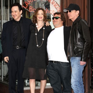 John Cusack, Joan Cusack, Jack Black, Billy Bob Thornton in John Cusack Honored with A Star on The Hollywood Walk of Fame