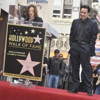 Joan Cusack, John Cusack in John Cusack Honored with A Star on The Hollywood Walk of Fame