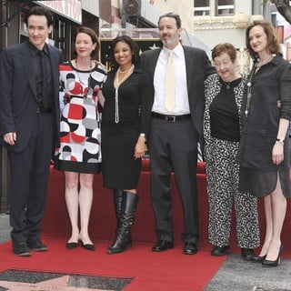 John Cusack, Joan Cusack in John Cusack Honored with A Star on The Hollywood Walk of Fame