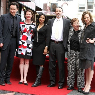 Joan Cusack in John Cusack Honored with A Star on The Hollywood Walk of Fame - cusack-john-cusack-walk-of-fame-04