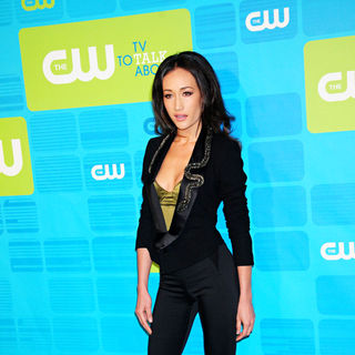 Maggie Q in 2010 The CW Network UpFront - Arrivals