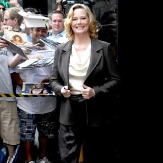 Cybill Shepherd in Celebrities Outside ABC Studios Ahead of Their Appearances on Good Morning America