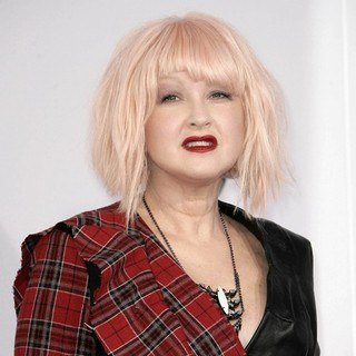 Cyndi Lauper in The 40th Anniversary American Music Awards - Arrivals