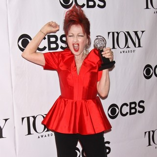 Cyndi Lauper - The 67th Annual Tony Awards - Press Room