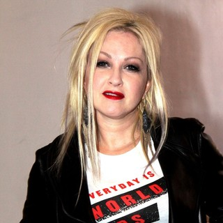 Cyndi Lauper in Cyndi Lauper Teams with MAC Cosmetics for A World Aids Day Benefit